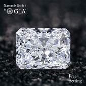 3.51 ct, Color E/VS1, Radiant cut Diamond