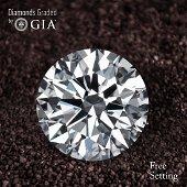 4.02 ct, Color F/VS1, Round cut Diamond