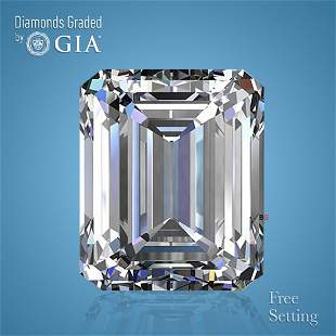 4.01 ct, Color D/VS1, Emerald cut Diamond
