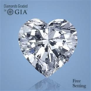 5.53 ct, Color D/VVS2, Heart cut Diamond
