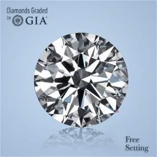 3.01 ct, Color E/VS1, Round cut Diamond