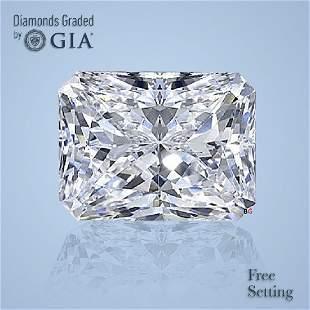 3.05 ct, Color D/FL, Radiant cut Diamond