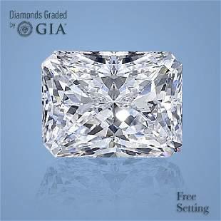3.01 ct, Color D/VS2, Radiant cut Diamond