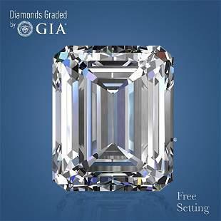 3.50 ct, Color D/VVS2, Emerald cut Diamond