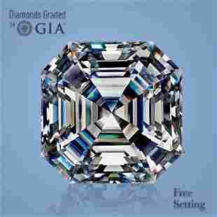 5.06 ct, Color G/IF, Sq. Emerald cut Diamond