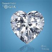 10.02 ct, Color H/VS2, Heart cut Diamond