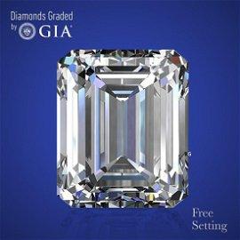 5.01 ct, Color D/IF, Emerald cut Diamond