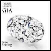5.01 ct, Color F/VVS1, Oval cut Diamond