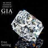 3.01 ct, Color E/VS1, Radiant cut Diamond