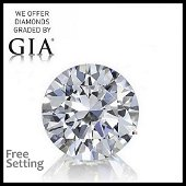 5.25 ct, Color E/IF, Round cut Diamond