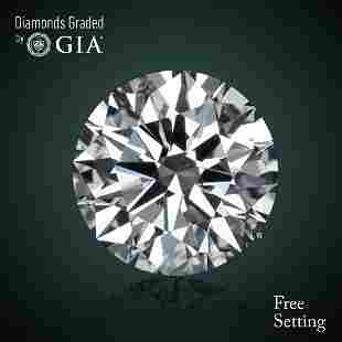 3.01 ct, Color F/VVS1, Round cut Diamond