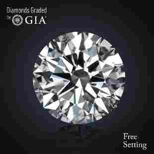 3.01 ct, Color E/VS2, Round cut Diamond