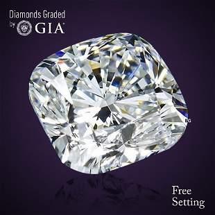 4.01 ct, Color G/VS2, Cushion cut Diamond