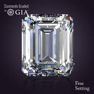 4.01 ct, Color D/VVS2, Emerald cut Diamond