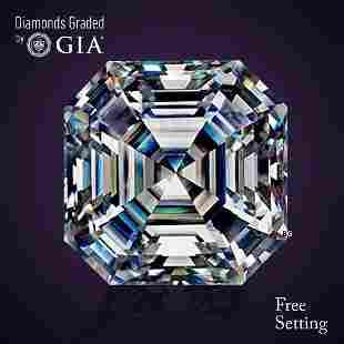 3.01 ct, Color D/VS1, Sq. Emerald cut Diamond