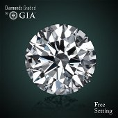 6.18 ct, Color D/FL, TYPE IIA Round cut Diamond
