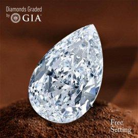 2.02 ct, Color F/VS1, Pear cut Diamond