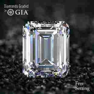 3.51 ct, Color H/VS1, Emerald cut Diamond