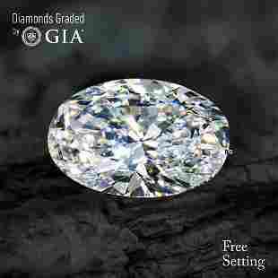 3.52 ct, Color D/VS1, Oval cut Diamond