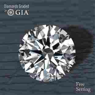 2.04 ct, Color F/VS1, Round cut Diamond