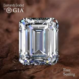 2.01 ct, Color I/VS2, Emerald cut Diamond