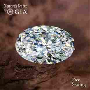 3.01 ct, Color G/VVS1, Oval cut Diamond