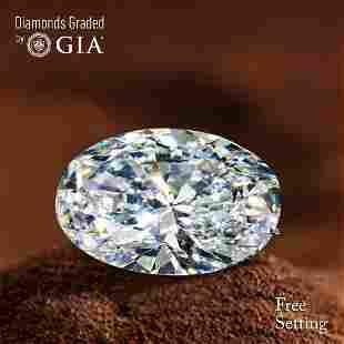 2.02 ct, Color F/VVS2, Oval cut Diamond