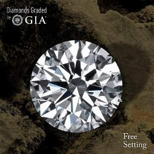 2.50 ct, Color D/VVS2, Round cut Diamond