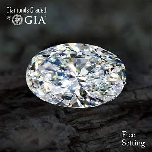 1.00 ct, Color E/IF, Oval cut Diamond