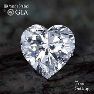 5.02 ct, Color H/VS1, Heart cut Diamond