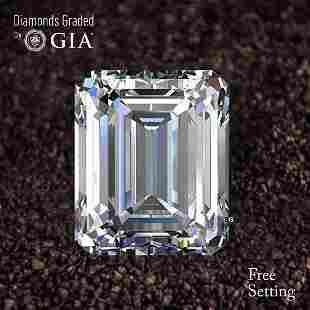 2.01 ct, Color G/VS2, Emerald cut Diamond