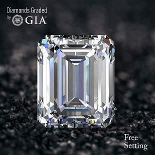 4.02 ct, Color E/VVS2, Emerald cut Diamond