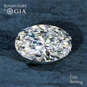 2.01 ct, Color G/VS1, Oval cut Diamond