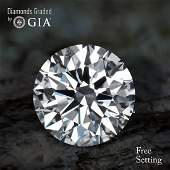 1.01 ct, Color F/VVS2, Round cut Diamond