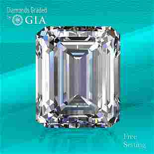 3.01 ct, Color G/VVS2, Emerald cut Diamond
