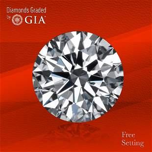 3.00 ct, Color H/VVS2, Round cut Diamond