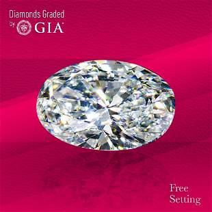 3.01 ct, Color E/VS1, Oval cut Diamond