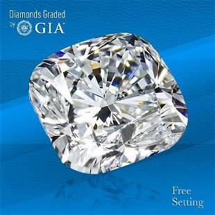 3.01 ct, Color H/VS2, Cushion cut Diamond