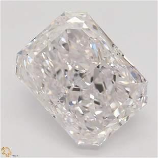 2.52 ct, Lt. Pink/VS1, TYPE IIA Radiant cut Diamond