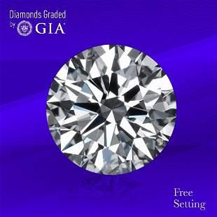 4.01 ct, Color H/VS2, Round cut Diamond