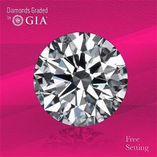 3.01 ct, Color D/IF, Round cut Diamond