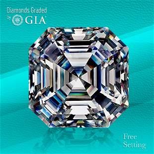 3.18 ct, Color F/VS1, Sq. Emerald cut Diamond