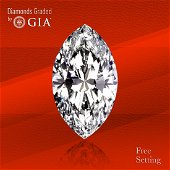 10.10 ct, Color D/VS1, TYPE IIA Marquise cut Diamond
