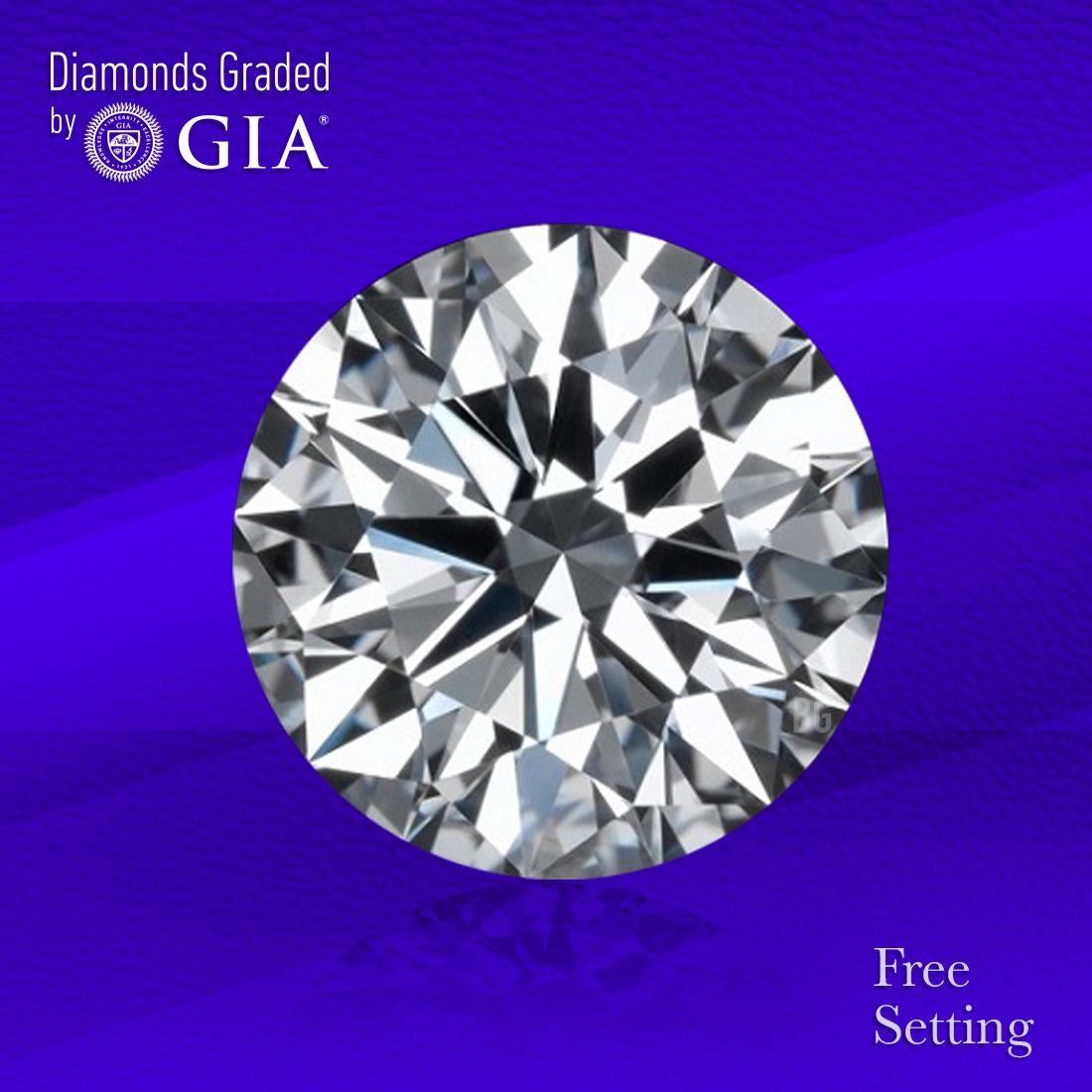 2.50 ct, Color D/VS2, Round cut GIA Graded Diamond