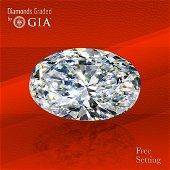 3.53 ct, Color E/VVS1, Oval cut GIA Graded Diamond