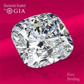 3.01 ct, Color D/VS1, Cushion cut GIA Graded Diamond