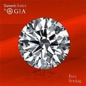 3.01 ct, Color E/VVS2, Round cut GIA Graded Diamond