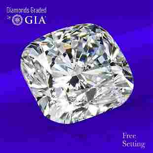 2.01 ct, Color G/VS2, Cushion cut GIA Graded Diamond