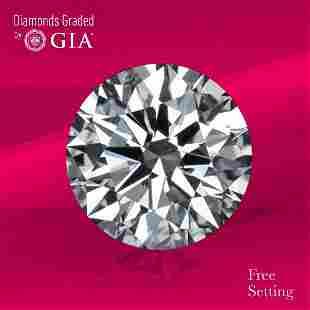 3.04 ct, Color E/VS1, Round cut GIA Graded Diamond