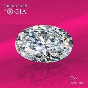 3.01 ct, Color E/VS1, Oval cut GIA Graded Diamond